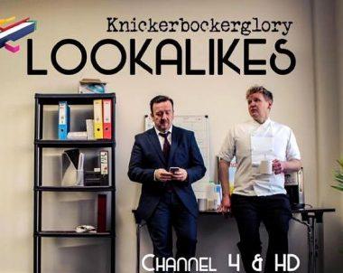 Gordon Ramsay lookalike Martin Jordan on Ch4's Lookalikes