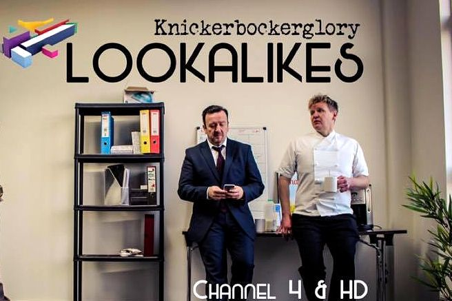 Series 2 of Lookalikes show on Channel 4 soon