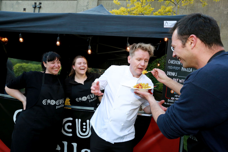 Food Promotions and festivals Gordon Ramsay Lookalike