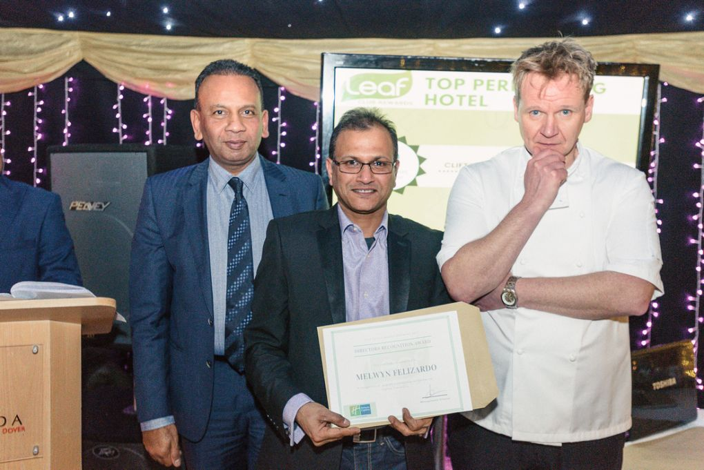 Gordon Ramsay Lookalike Award Ceremonies