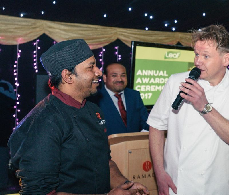 Gordon Ramsay Lookalike Awards Ceremonies