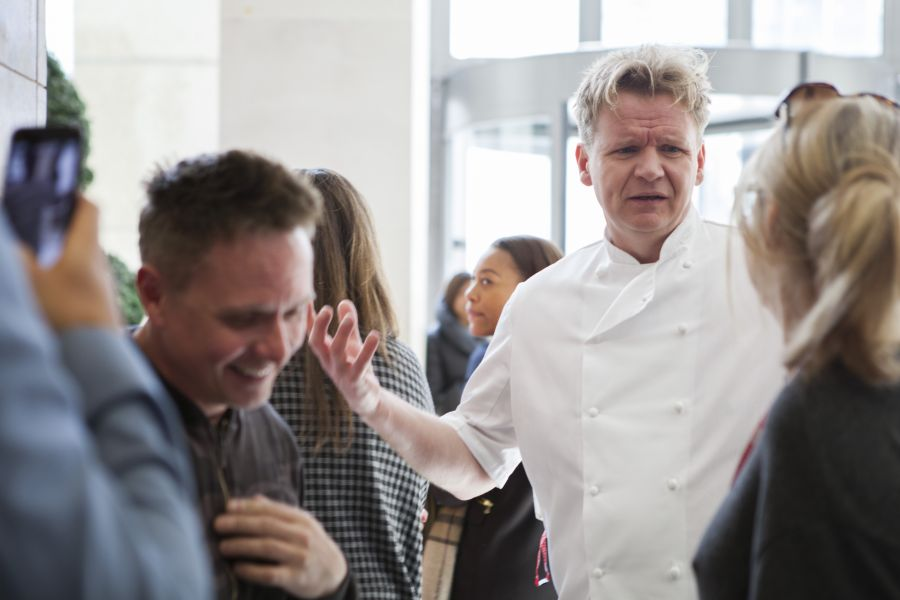 Gordon Ramsay Lookalike Mix and Mingle