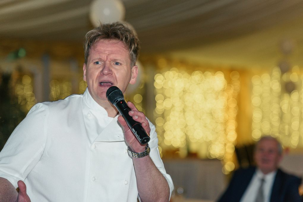 Gordon Ramsay Lookalike Public Speaking night