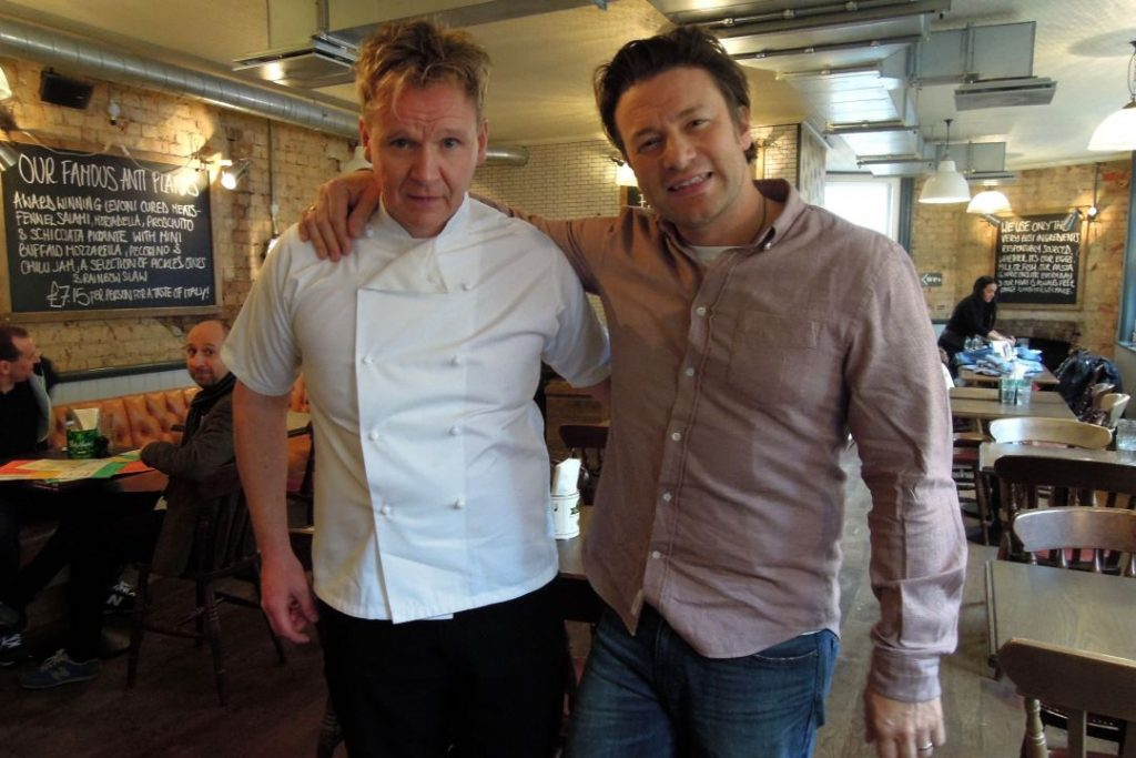 Food promotions and festivals gordon ramsay lookalike gordon ramsay lookalike at jamies italian in london m4hsunfo