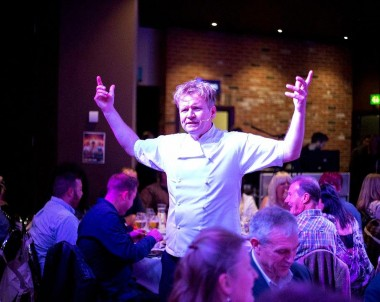Hire a Gordon Ramsay Lookalike for your corporate event