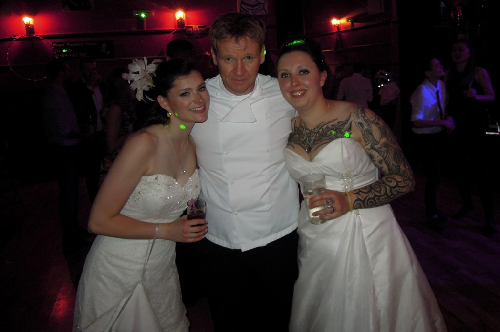 Gordon-Ramsay-lookalike-Martin-Jordan-Wedding-appearance