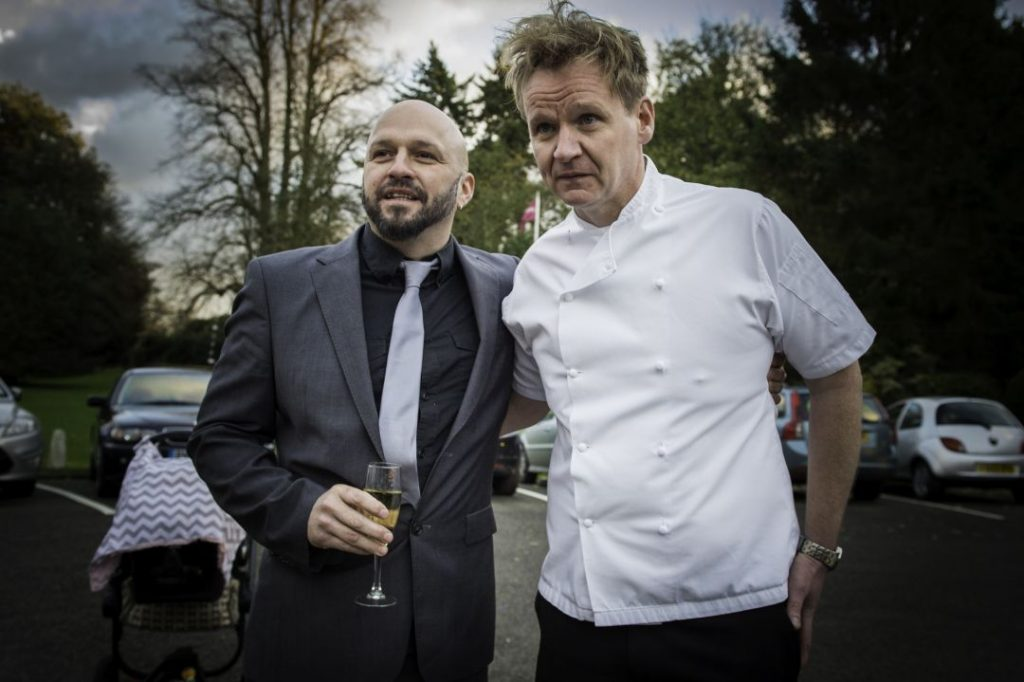 Gordon Ramsay lookalike Private parties entertainment