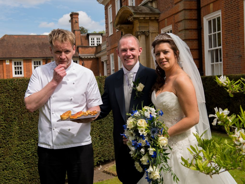 Hire a Gordon Ramsay lookalike for your wedding