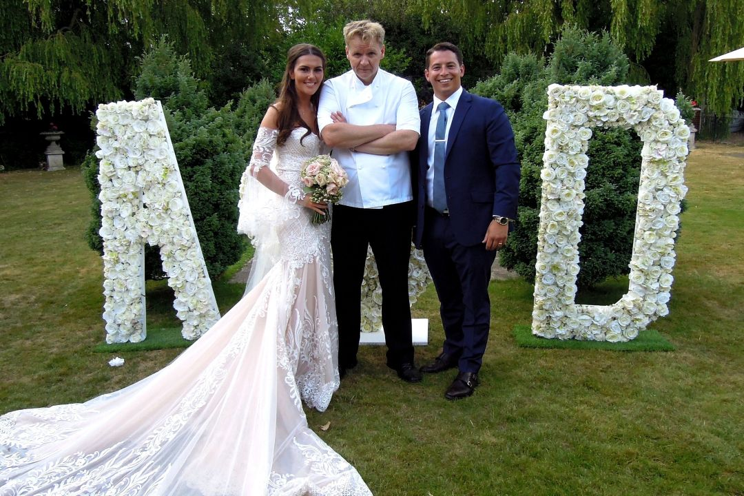 Gordon Ramsay Lookalike wedding surprise