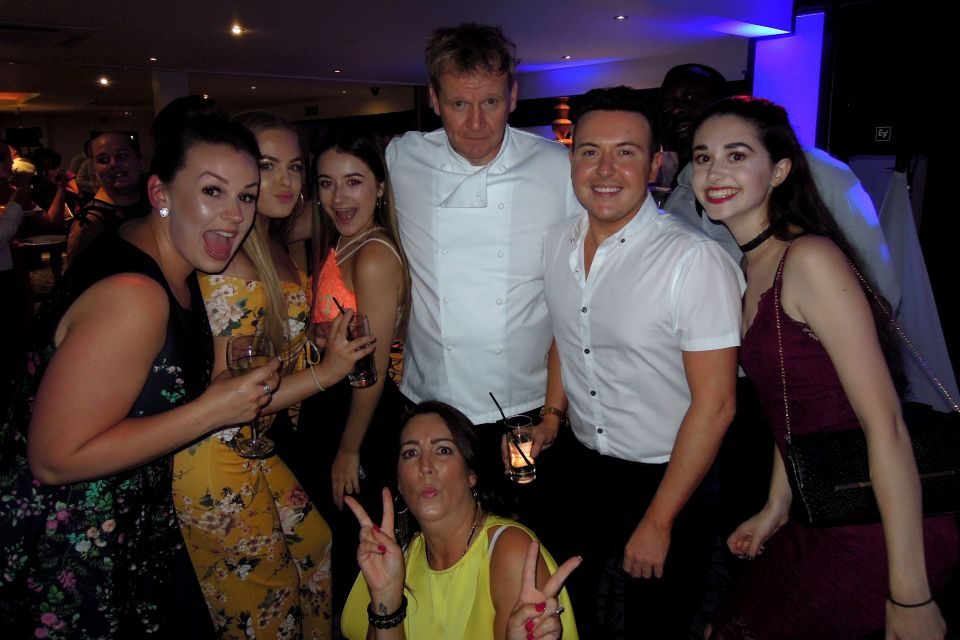 Gordon Ramsay Lookalike Wedding