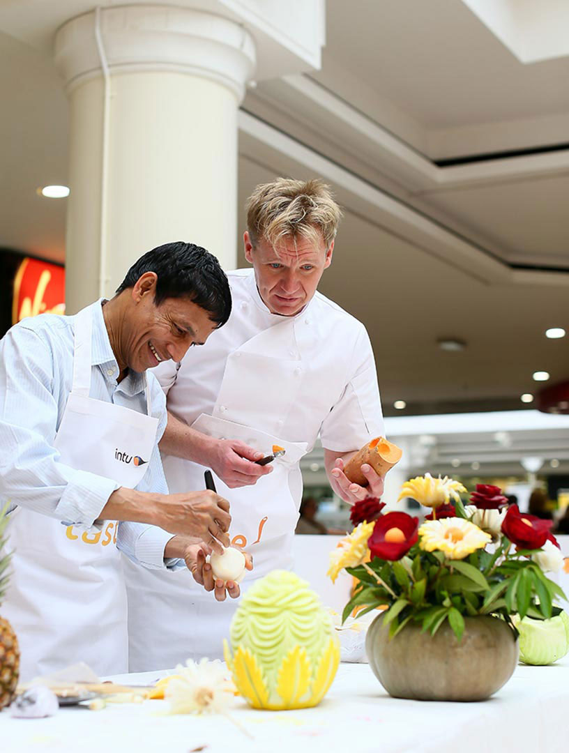 Gordon Ramsay Lookalike PR Stunts