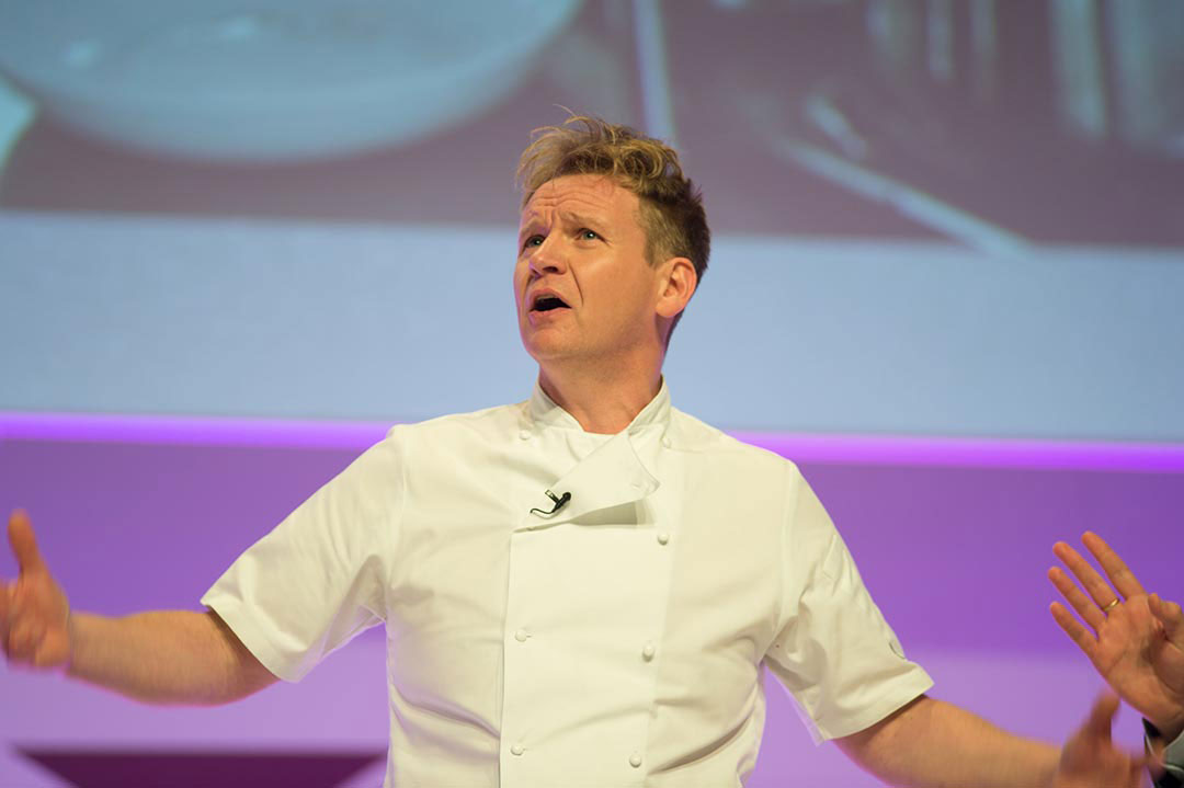 Gordon Ramsay Lookalike Public Speaking