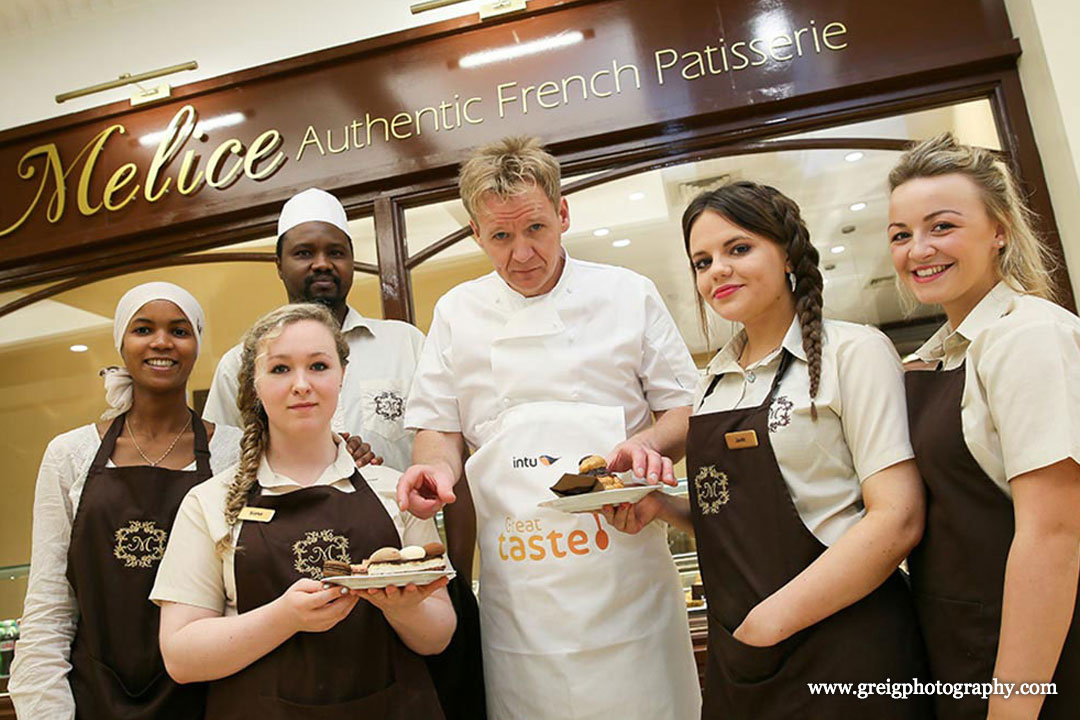 Gordon Ramsay lookalike promotion