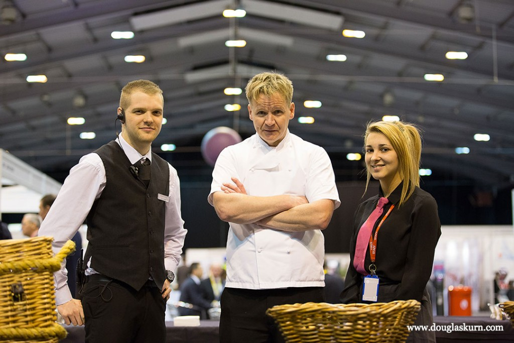 Gordon Ramsay Lookalike Photo Douglas Kurn