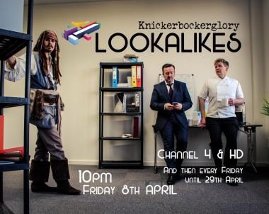 Gordon Ramsay lookalike on Channel 4 Lookalikes show