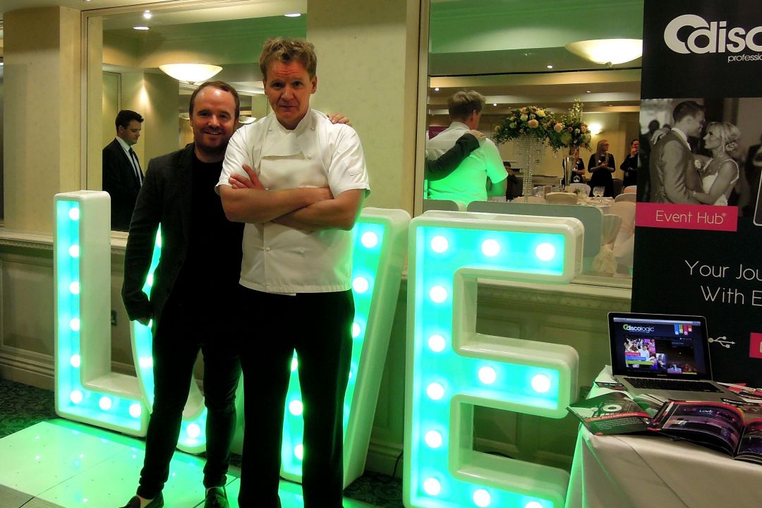 Discologic hire a lookalike for Wedding fayre