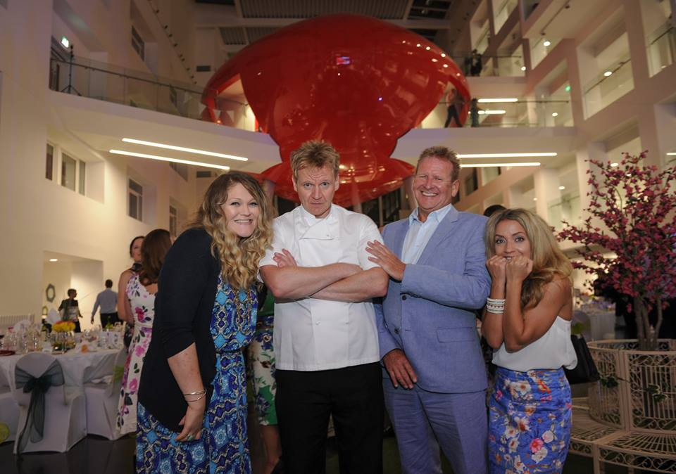 Gordon Ramsay lookalike private parties solent University opening