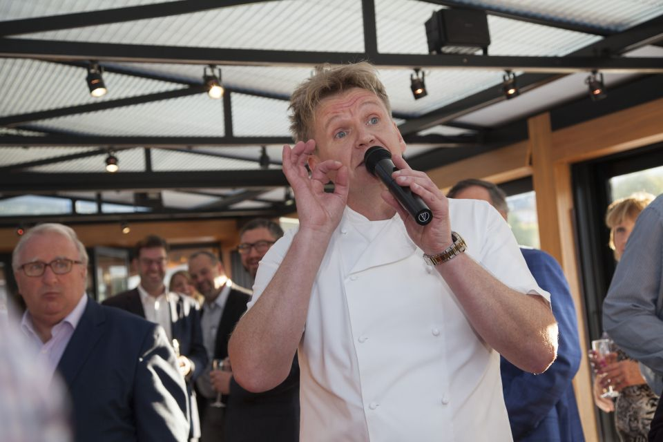 Gordon Ramsay Lookalike Weddings