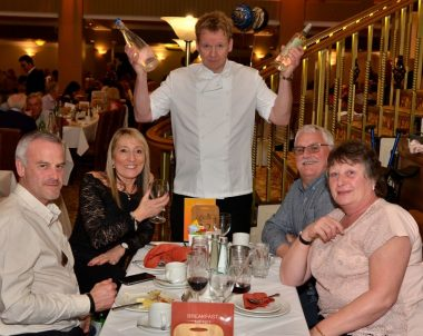 Gordon Ramsay Lookalike at Potters resort Hopton