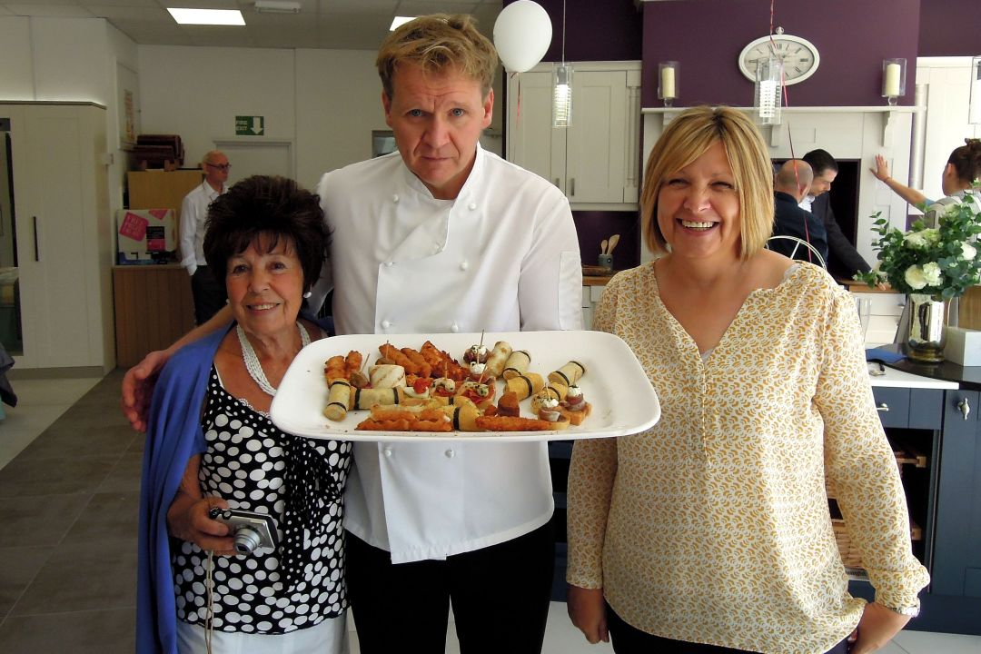Gordon Ramsay Lookalike Kitchen showroom