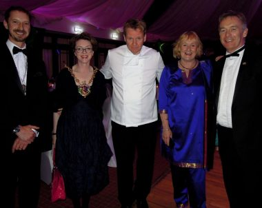 Gordon Ramsay Lookalike at Papworth Trust's fundraiser
