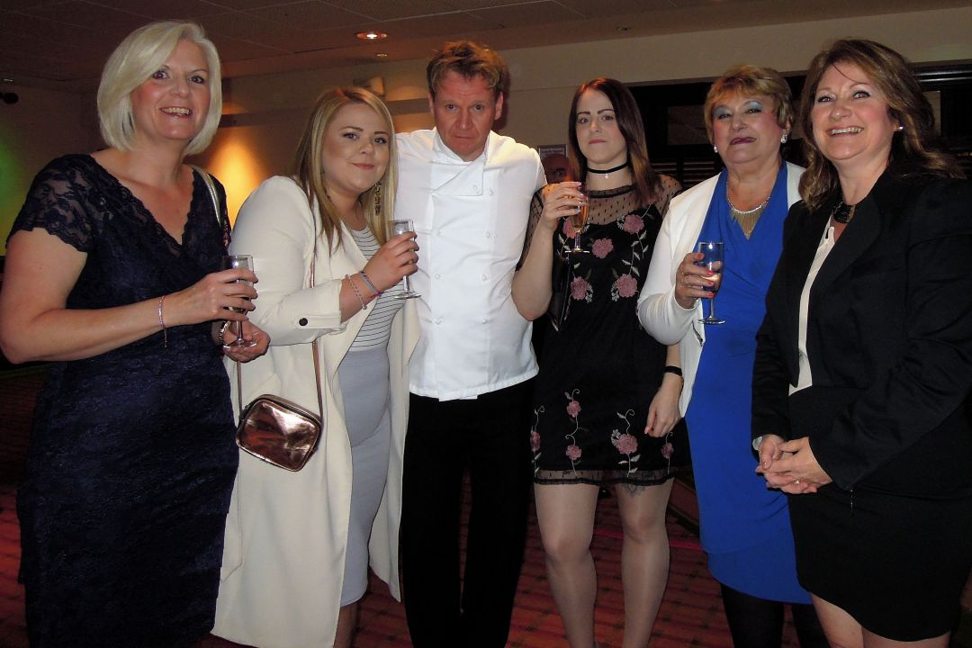 Gordon Ramsay lookalike Papworth Trust auction