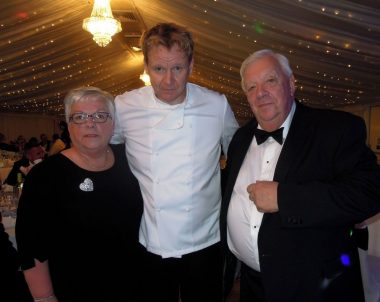Gordon Ramsay Lookalike at a charity auction