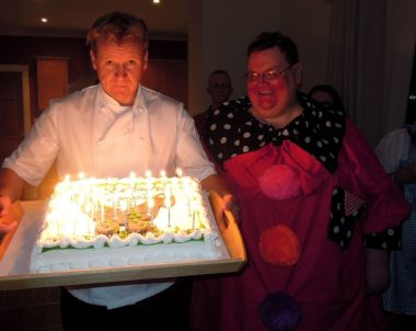Gordon Ramsay Lookalike Birthday Party