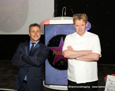 Gordon Ramsay Lookalike at the Intu staff awards night