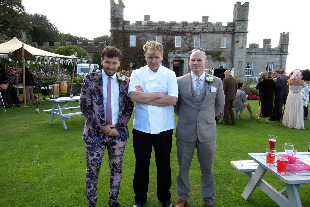 Gordon Ramsay Lookalike at Tregenna Castle St Ives