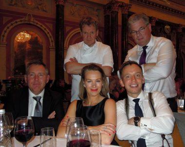 Gordon Ramsay Lookalike at Gibson Hall London