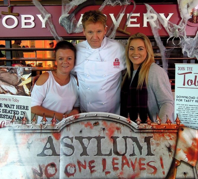 Gordon Ramsay Lookalike food promotions and festivals