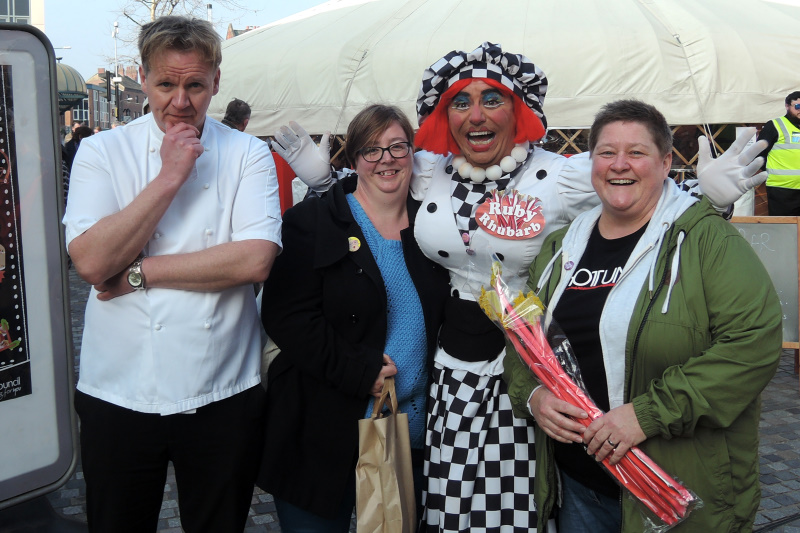 Wakefield Food Drink and Rhubarb Festival