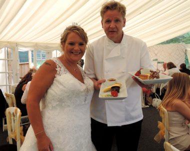 Amanda & Russel's wedding at Bordesley Park