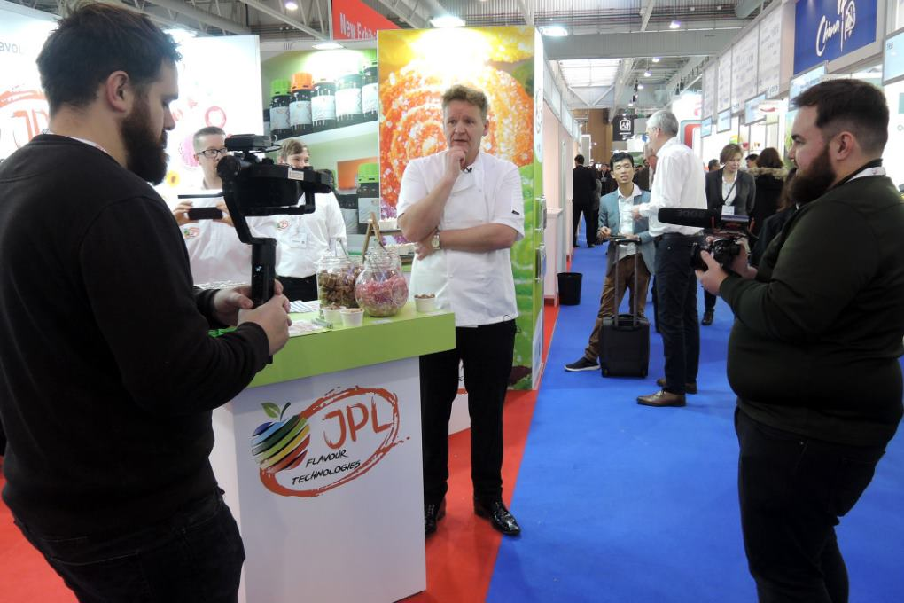 Trade Shows Gordon Ramsay Lookalike Martin Jordan