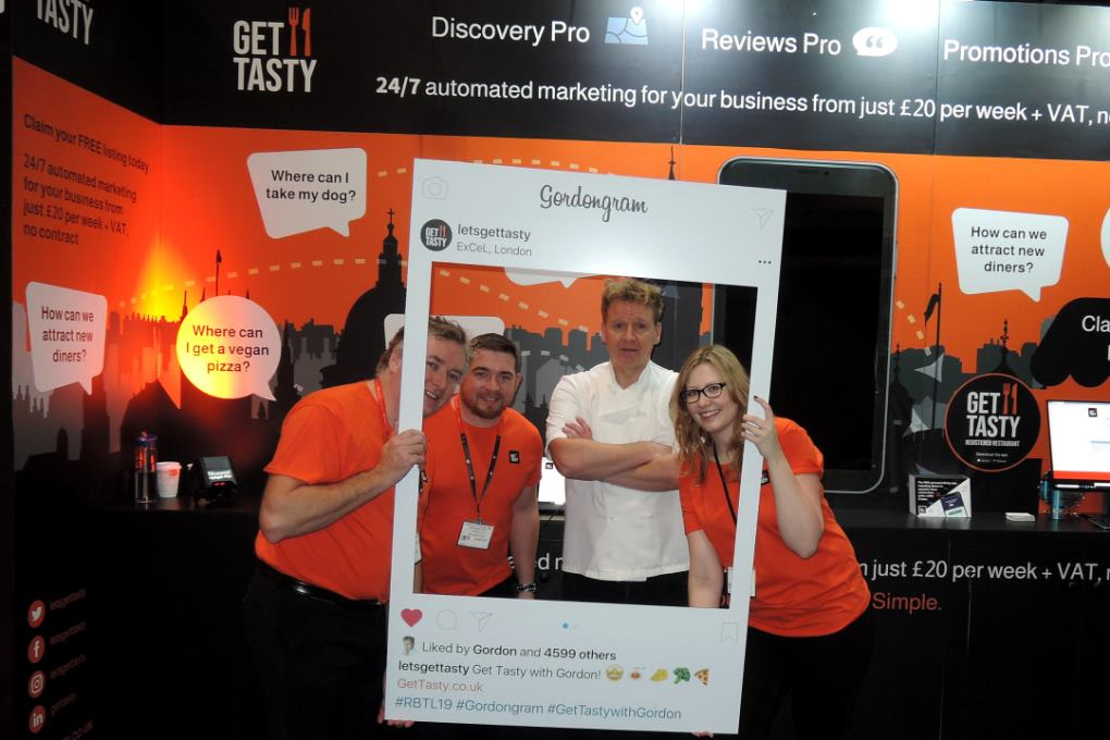 Trade shows Gordon Ramsay Lookalike