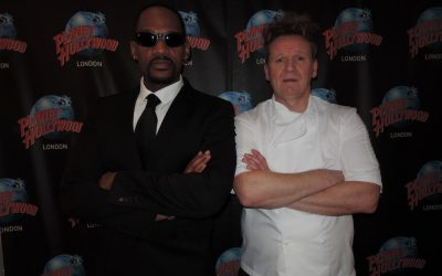 Gordon and Will at Planet Hollywood